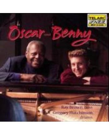 Oscar Peterson and Benny Green / Oscar and Benny