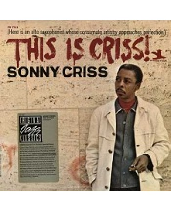 Sonny Criss / This is Criss