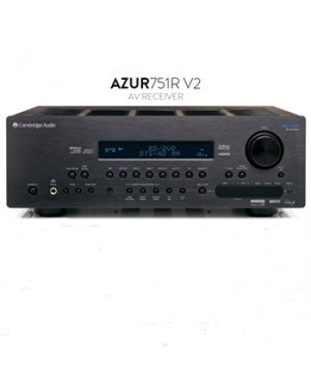 Cambridge / Azur 751R V2 - The Ultimate Upsampling Home Cinema Receiver
