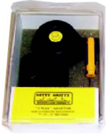 Nitty Gritty / 3-Way Adapter Kit - Removable Spindle for Auto-rotation -  7,10,12 in